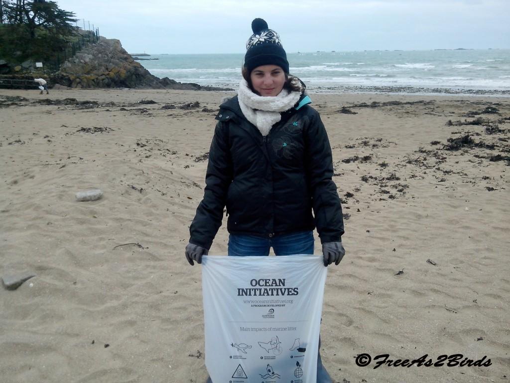 collecte de déchets 3 - Etables sur mer - Freeas2birds