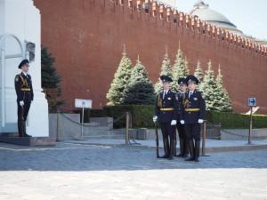 La relève de la garde du Kremlin