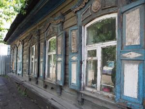 Vieilles maisons à Irkutsk