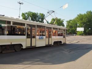 Tram d'Irkutsk