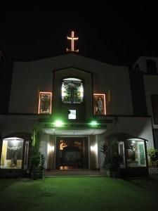 L'église du village très...funky !