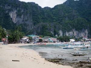 La plage principale