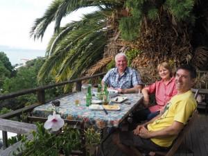 Franck et Sally à Napier - Nouvelle-Zélande