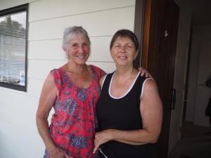 Marie, une amie de Gail à Snells beach - Nouvelle-Zélande
