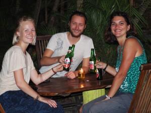 Synnove et Michael à Padanbai - Bali - Indonésie