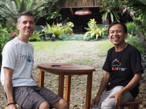 """Jhony jungle"" à Ketembe - Indonésie"